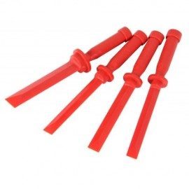 Wiellood schraper set 4 delig Plastic