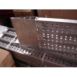 Oprijbalken Autoambulance Oprijplaten 250cm CE/TUV Set