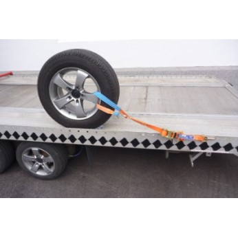 Autotransport spanbanden Velg bevestiging