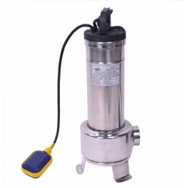 Rioolwaterpomp met versnijder en vlotter 1,3KW 220 volt