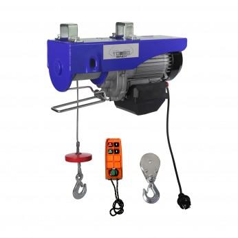 Elektrische takel draadloos 300 / 600kg 230 Volt