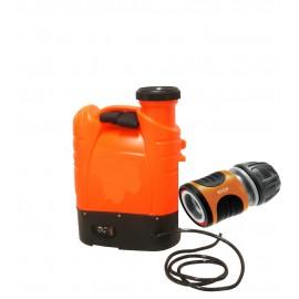 Drukvat Waterketel 15 liter met Gardena waterstop.