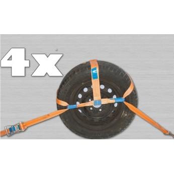 Autotransport spanbanden 4,5m. 50mm.